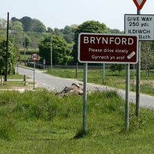 View towards Brynford Crossroads