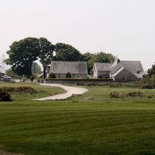 View towards Calcoed Lane from Golf Course