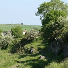 View from the Old Quarry, Bryn Sannan