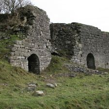 Original image of the lime kilns near Bryn Mawr Quarry