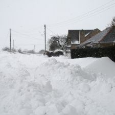 Snowbound Calcoed Saturday 23rd March 2013